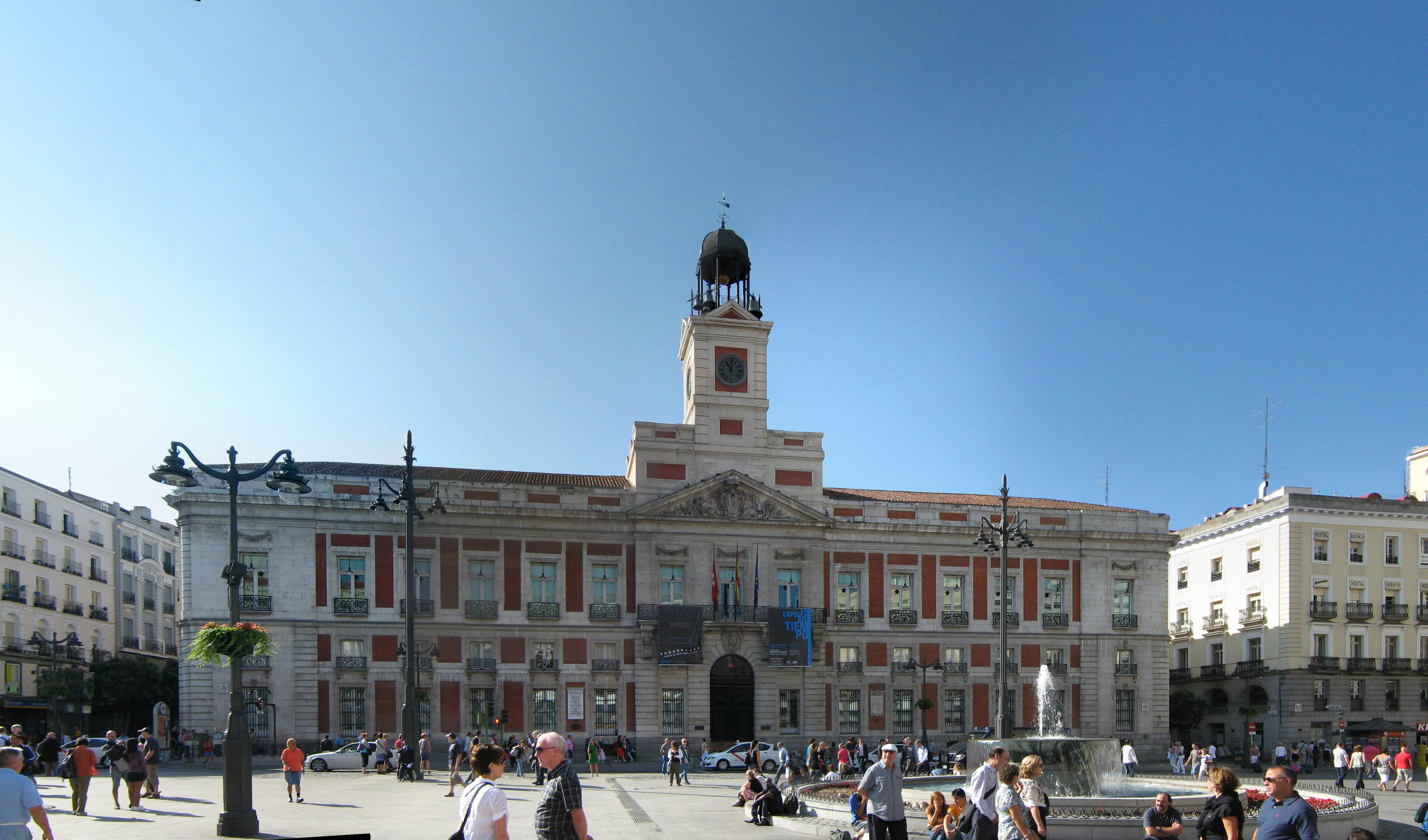 Index of panorama for Puerta de sol madrid